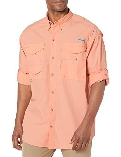 Columbia Bonehead PFG Bonehead - Camisa para Hombre, Hombre, 101167, Re Granchio, 2X Alto