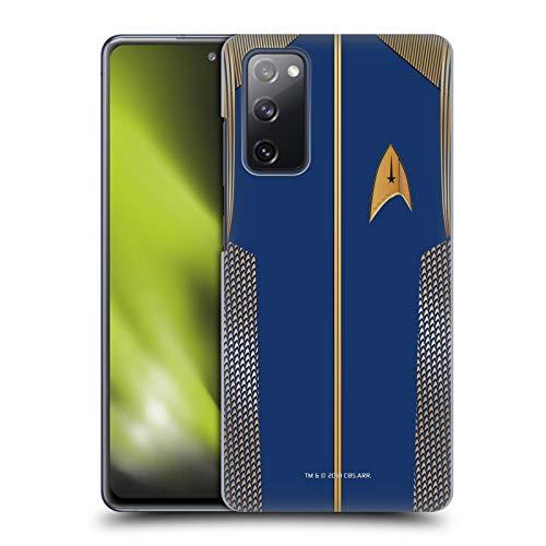 Head Case Designs sous Licence Officielle Star Trek Discovery Capitaine Uniformes Coque Dure pour l'arrière Compatible avec Samsung Galaxy S20 FE / 5G