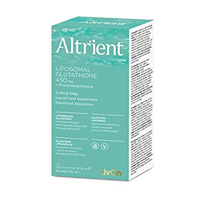 Altrient Liposomal Glutathione by LivOn Labs/LivOn Laboratories GSH Lypo-Spheric Glutathione - Liposomal Setria Glutathione - 30 sachets