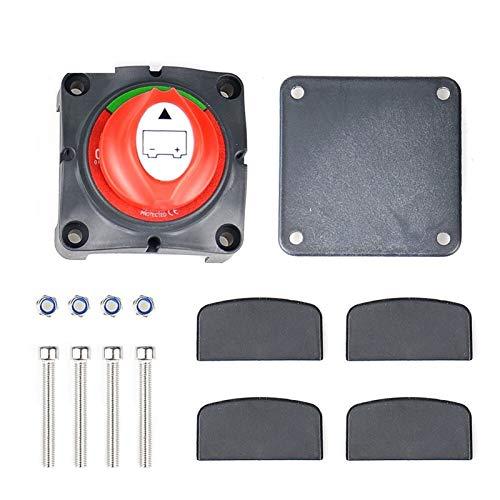 Interruptor de la ventana del lado del conductor En forma for el interruptor principal 3 Posición del interruptor de desconexión de la batería de alimentación 12-60V aislador Cut Off Kill, apto for el