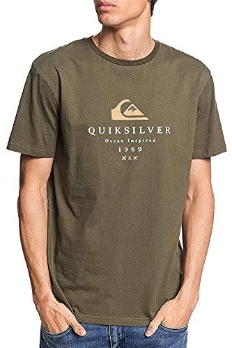Quiksilver™ First Fire - T-Shirt - Homme - XXL - Vert