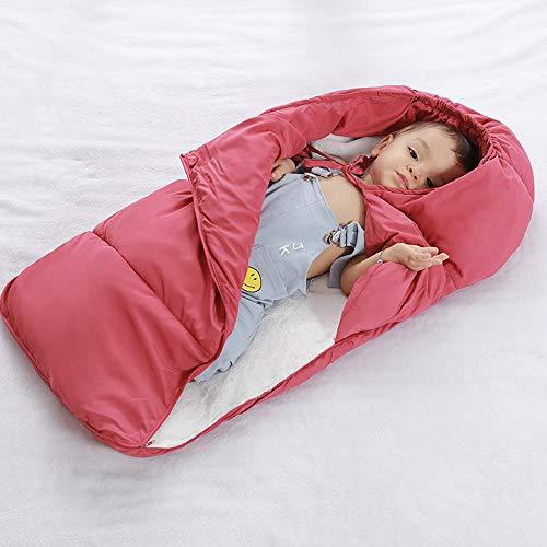 YAYIDAY Baby Swaddle Blanket Fleece Stroller Wrap Nap Blank Sleeping Bag Zipper Closure for Kids Toddler Nursery 100% Cotton Quilted Slumber Bag Nap Wrap Soft Warm Girl Boy Sleepovers11