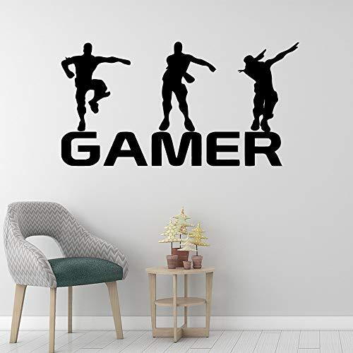 Gamer Vinyl Wandaufkleber Für Kinderzimmer Dekoration aufkleber Poster jungen Gaming PS4 Battle Royale Xbox Spiel Aufkleber Wandbild Tapete