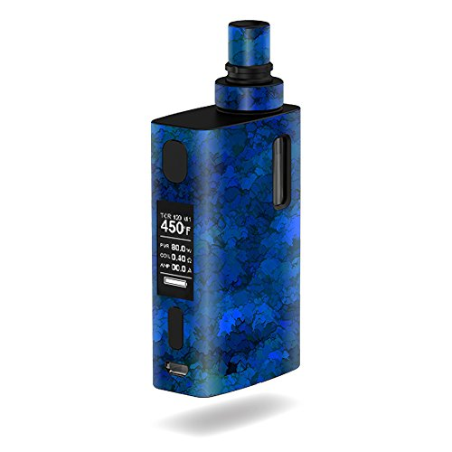 MightySkins Skin Compatible with JoyeTech eGrip 2 II – Blue Ice | Protective, Durable, and Unique Vinyl Decal wrap Cover | Easy to Apply, Remove, and Change Styles | Made in The USA