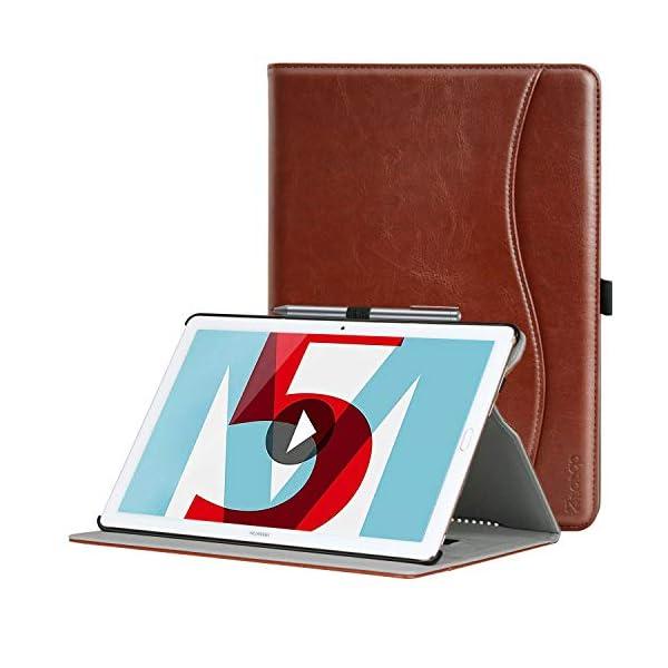 ZtotopCase Huawei MediaPad M5 /M5 Pro 10.8 Case, Premium Leather Business Stand Folio Cover with Auto Wake/Sleep…