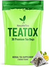 30 Day (Detox Tea for Weight Loss) and Belly Fat Burner for Women- Herbal Keto Teatox to Slim Fast, Skinny Fit Body   Energy/Metabolism Booster   Bloating Relief for a Flat Tummy  Senna Detox Cleanse