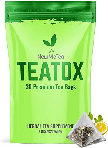 30 Day (Detox Tea for Weight Loss) and Belly Fat Burner for Women- Herbal Keto Teatox to Slim Fast, Skinny Fit Body | Energy/Metabolism Booster | Bloating Relief for a Flat Tummy |Senna Detox Cleanse
