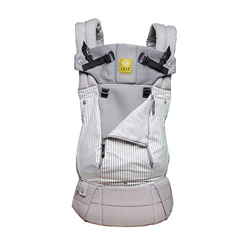 LÍLLÉbaby Complete All Seasons Six-Position 360° Ergonomic Baby and Child Carrier, Silver Lining