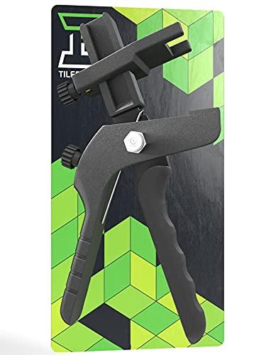 TILER TOOLS® Fliesen Nivelliersystem Zange[Deutsche Marke] Boden und Wand Zange[Hochwertige Verarbeitung- Angenehmes Handling] Fliesenleger Werkzeug|Nivelliersystem Zange|Nivelierset|Ersatzzange