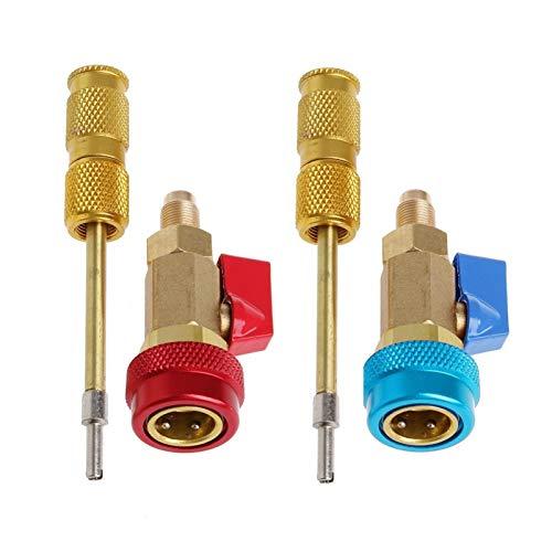 RJJX Klimaanlage R134A Ventilkern Schnellentferner Installateur Hohe Niederdruckwerkzeug Auto Innere Klimaanlage Installation