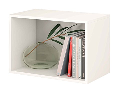 Samblo, Mizu, Mensola, Bianco (Bianco/Grigio), 40 x 60 x 33 cm