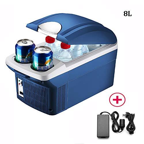 ZHZW Mini Refrigerador Y Calentador Portátil De Coche, Nevera Portátil Eléctrica Súper...