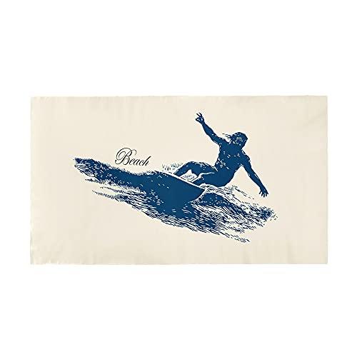 Highdi Toalla de Playa de Microfibra, Impresión Manta de Playa Grande Prevención de Arena Esterilla de Yoga, Seque Rápidamente, Piscina, Playa, Viaje, Picnic (Deporte,150x180cm)
