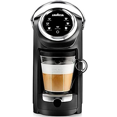 Lavazza Expert Coffee Classy Plus Single Serve ALL-IN-ONE Espresso & Coffee Brewer Machine - LB 400 - (Includes Built-in Milk Vessel / Frother)