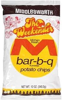 Middleswarth Kitchen Fresh Potato Chips Bar-B-Q Flavored The Weekender - 10 Oz. (3 Bags)