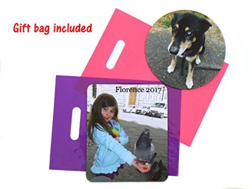 Personalized Mouse Pad - Add Pictures, Text, Logo or Art Design and Make Your Own Customized Mousepad. Each Custom Mouse Mat Comes in a Colorful Gift Bag. Personalized Your Gaming Mousepad Photo #2