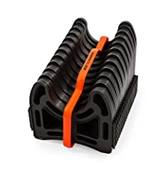 The ultimate protection and support for your sewer hose: The 20ft Sidewinder RV Sewer Hose Support by Camco lifts and cradles your sewer hose while in connection from your RV to the dump station. It keeps your sewer hose off the ground and prevents p...
