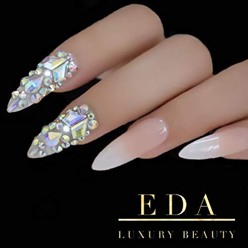 Uñas Postizas Nude marca EDA LUXURY BEAUTY