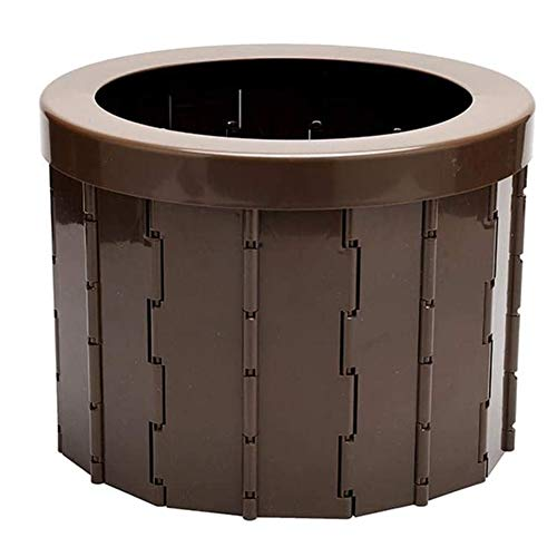Pillows-RJF Tragbarer Toilettensitz, zusammenklappbar, geeignet für Outdoor-Camping, kann bis zu 200 kg tragen
