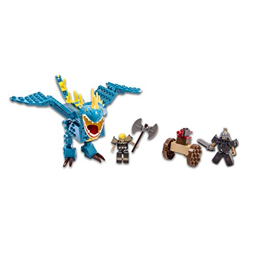 Ionix 21002 - Drachenzähmen leicht gemacht 2 - Deadly Nadder Dragon, 121 Teile