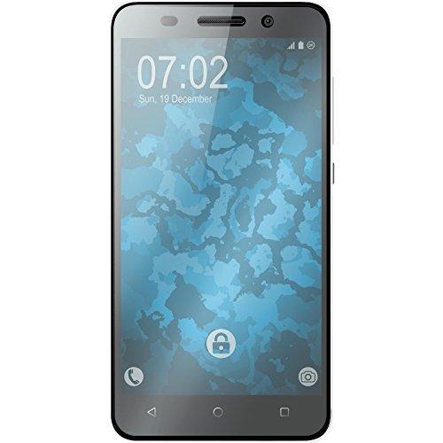 PhoneNatic 2 x Glas-Folie klar kompatibel mit Huawei Honor 4X - Panzerglas für Honor 4X - 4