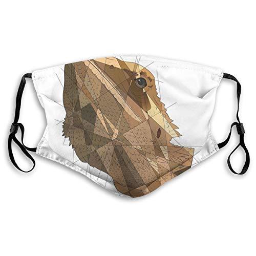 Bestsocks, máscara facial a prueba de sol, moda bandana para hombres y mujeres, dragón Gucci