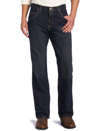 Wrangler Herren Jeans Big Rugged Wear Relaxed Straight Fit Jeans - Blau - 54W / 34L