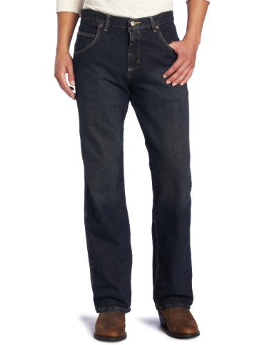 Wrangler Men's Big Rugged Wear Relaxed Straight Fit Jean, Union, 50x28