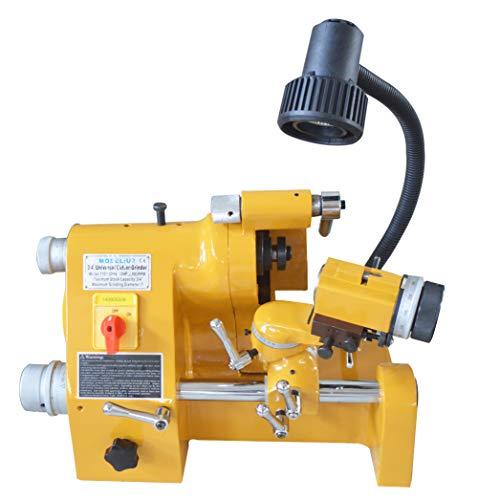 Great Deal! INTBUYING R8 Sharpener End Mill Lathe Drill Bit Knife Grinder Universal 220V