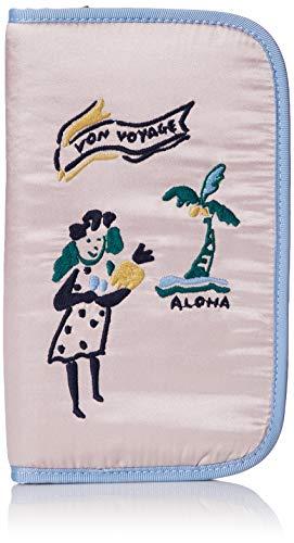 (プードゥドゥ) POU DOU DOU VON VOYAGE パスポート ケース 1711340013 8 ピンク レディース 刺繍 旅小物 トラベルグッズ パスポートカバー ポーチ 小物入れ