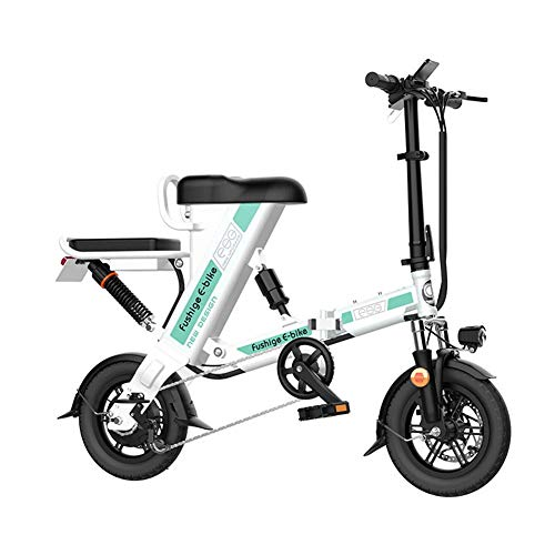LOISK Electric Bike Electric Mountain Bike 26 Inch Snow Bike, 48V 1000W Electric Mountain Bike, with 200W Motor, Three Operating Modes for Cycling Outdoor,White,Boost up to 120km