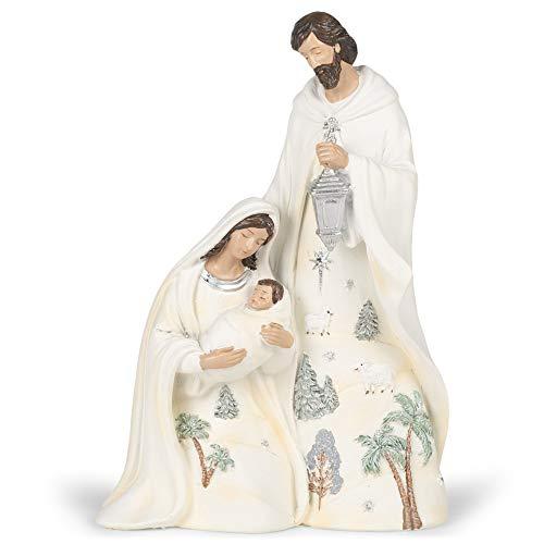 Roman 133904 Figurine Holy Family w/Lantern, 9.5 inch, Multicolor