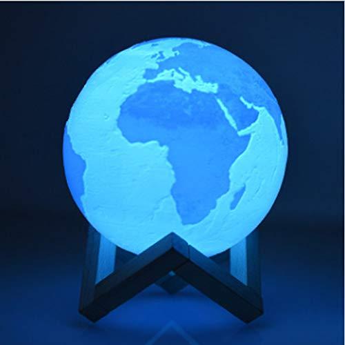 Moon Light 3D-Druck Moon Globe Lampe 3D Glowing Moon Lampe mit Ständer, Luna Moon Lampe Nachtlicht für Zuhause Schlafzimmer Dekor Kinder