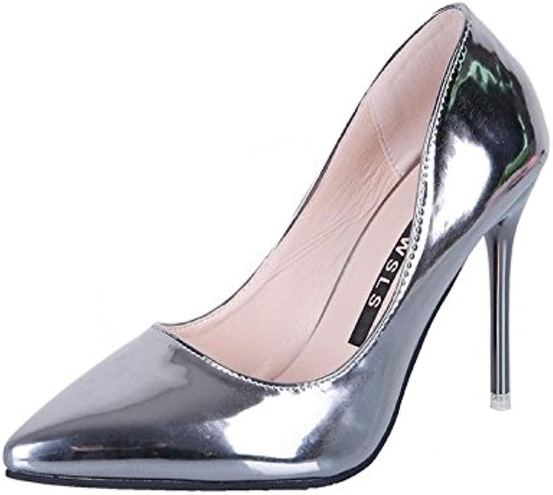 HOESCZS High Heels High Heels Mode Super Super High Heels Wies Stiletto Damenschuhe  Neuheiten