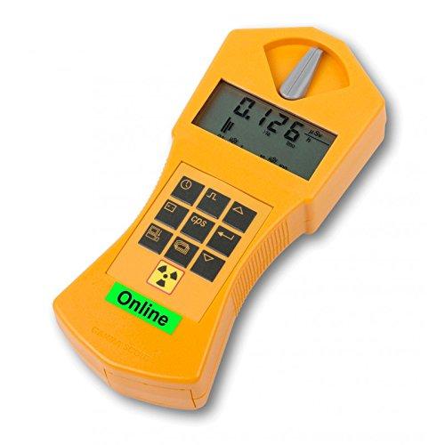 GAMMA-SCOUT® Geigerzähler Online/Real Time (Mit Funktionen des Alertmodells)