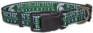 Pet Goods NCAA Michigan State Spartans Dog Collar, Large