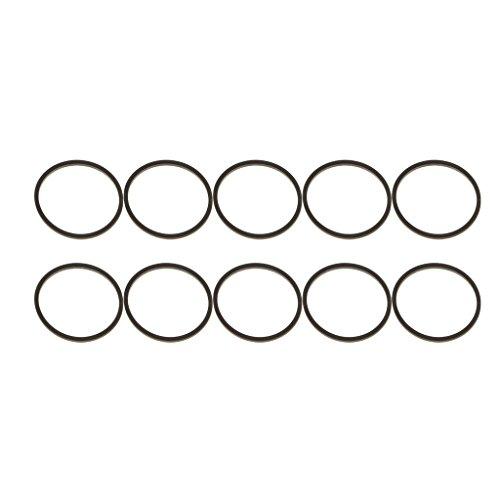 P Prettyia 10er Ersatzriemen Für Vierkantlaufwerke Für Die Reparatur des Optischen DVD Laufwerks Xbox 360