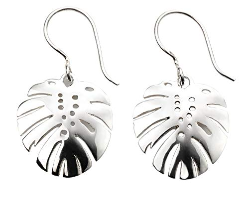 2mm Sterling Silver 10inch Solid Polished Palm Tree