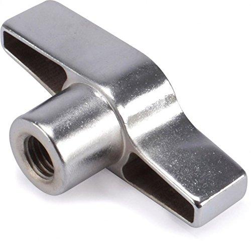 Riggatec Flügelmutter Silber M12 Gewinde