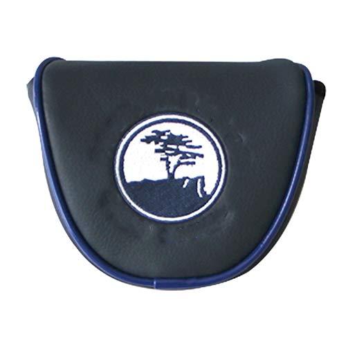 KGMIXL Reutilizable 1 unids Cubiertas de Cabeza de Golf Accesorios PU Club Accesorios Putter Golf Putter Cubierta en la Cabeza para Blade Golf Club Head Cubiertas Accesorio Funda Protectora de Golf