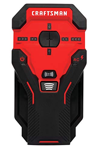 CRAFTSMAN Stud Finder, 3-Inch Depth, AC Detection (CMHT77623)