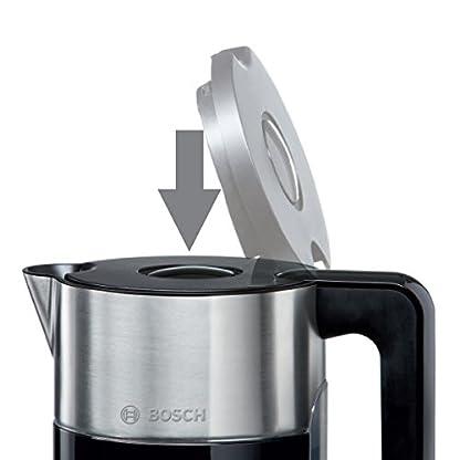 Bosch-TWK8613P-kabelloser-Wasserkocher-Abschaltautomatik-berhitzungsschutz-Temperaturwahl-Warmhaltefunktion-15-L-2400-W-schwarz
