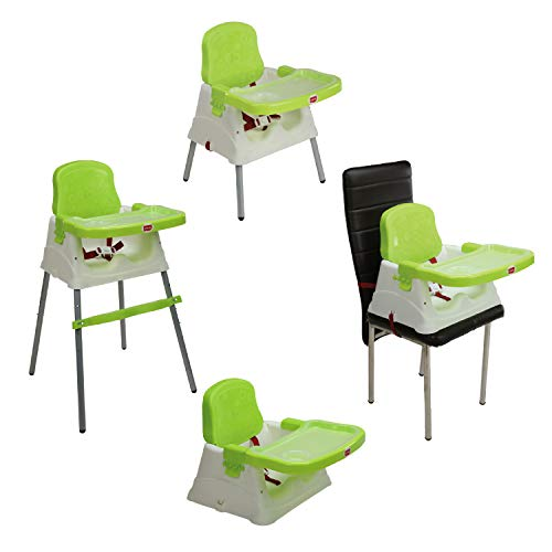 LuvLap 4 in 1 Booster High Chair - Green