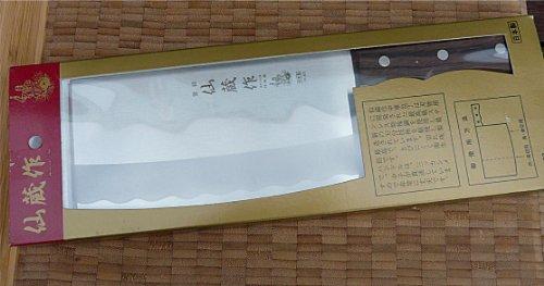 Japanisches Hackmesser, Japan, Klinge 175 mm