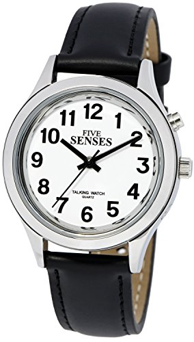Talking Watch for Men Women with Loud Sound Alarm for Visually impaired by 5 Senses 1267