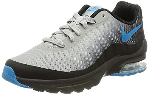 Nike Air MAX Invigor GS, Sneaker, Black/Laser Blue-Light Smoke Grey, 39 EU