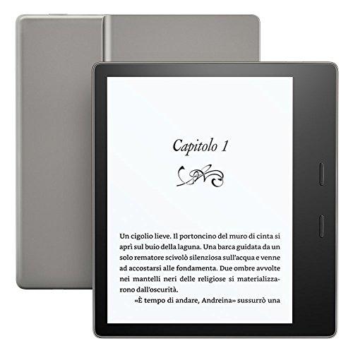 Kindle Oasis - Resistente all'acqua, 8 GB, connettività Wi-Fi (generazione precedente - 9ª)