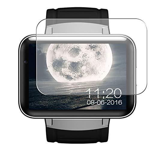 Vaxson 3 Stück Schutzfolie, kompatibel mit Smartwatch smart watch DM98, Displayschutzfolie Bildschirmschutz Blasenfreies TPU Folie [nicht Panzerglas]