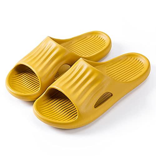 YIHANGJIA Zapatillas Antideslizantes Ultraligera Pantuflas Zapatos de Piscina Uso En Interiores Uso Al Aire Libre Baño Sandalia para Mujeres Y Hombres,G,40~41