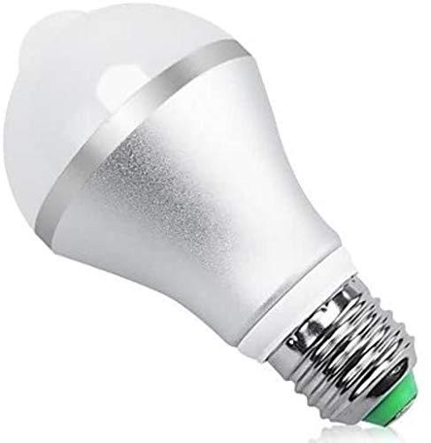 JT- Infrarot Menschlicher Körper Induktion Birne 5W Bajonett Intelligent Menschlicher Körper Induktion Birne E27 Aluminium Shell mit Licht Sense dauerhaft